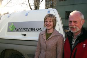 Åsa Lundberg på Skogsstyrelsen.