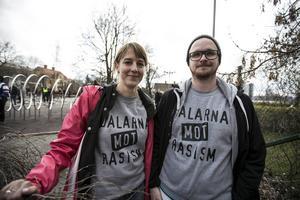 Sofia Portström från Insjön och Mathias Edbäck från Falun.