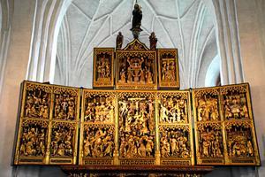 Det största av Västerås domkyrkas altarskåp.