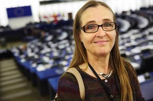 Bodil Valero (MP) EU-parlamentariker från Gävle med de största frågorna på sitt bord. Tillhörandes ett parti där hela havet stormar.