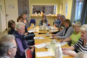 Dialog. En hel del av landsbygdsföreningarna slöt upp i Finnerödja för att samtala om vad man har på gång.