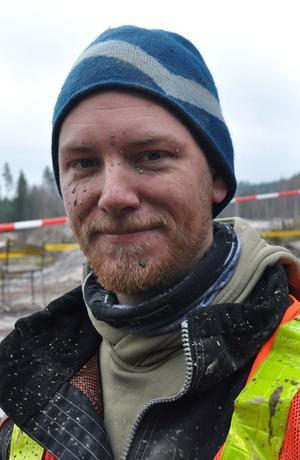 Tävlingsledaren Mikael Pettersson var mycket nöjd med Säters Motorklubbs första lagtävling.