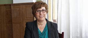 Mara Maric, Orsa Lamellträ, är en av de som utsetts till ambassadör för kvinnliga företagare. Foto: Birgit Nilses Gröndahl / Arkiv