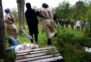 Janne hade bedrivit otukt och för det skulle han hängas. Precis här, på galgbacken på Öneberget, avrättades folk förr i tiden.Foto: Håkan Luthman