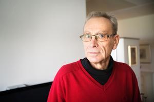 Kontrollerad. Göran Haglunds lägenhet på Viksängsvägen hade inga sprickor (inför bygget), visade kontrollen.