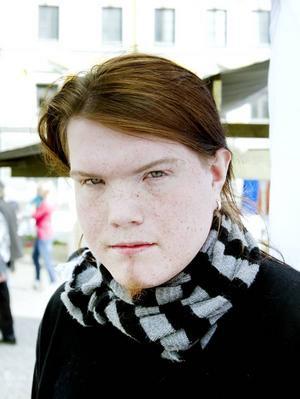 Mattis Jackas, 20 år, praktiserar som ljustekniker, Järvsö:– Jag ska rösta och jag har bestämt mig för ett parti. Avgörande för mig är vad som är bäst för det svenska samhället och för ungdomar som vill ut i arbetslivet.