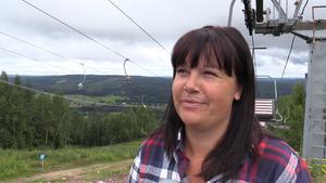 Kungsbergets platschef Martina Svensson är optimistisk inför framtiden.