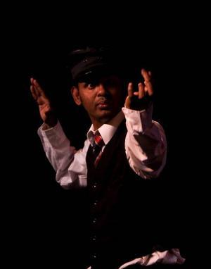Ramesh Meyyappan i enmansföreställningen