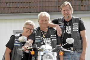 Engagerade. Inge Cassman, Roger Cassman, Tomas Mathiesen hör till de tio som var med och startade föreningen i februari.