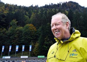 Wolfgang Pichler blir mentor åt skidskyttelandslagets tränare, bland andra Johan Hagström från Häverödal.