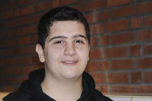 Mustafa Alqasem, 15, årskurs 9, Ludvika– Jag brukar plugga mycket.