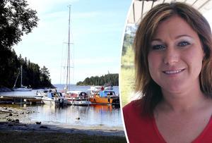 Linda Leiderud är jätteglad över pengarna som ger stora möjligheter i kustområdet.
