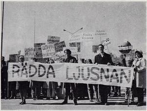 Demonstrationståg på första maj.