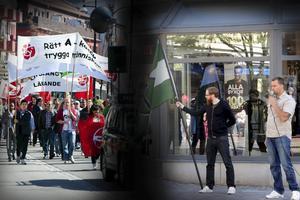 Socialdemokraterna 1 majtågar i Borlänge. Nu har nazistiska Nordiska Motståndsrörelsen sökt tillstånd för demonstration, musik och tal i sju timmar i centrum på arbetarrörelsen högtidsdag.
