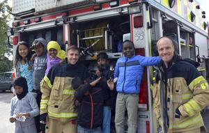 Eldslukare blir något nytt men räddningstjänsten brukar vara med under Tallnäsdagen om det finns möjlighet. Bild: Arkivbild.