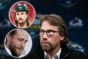 Peter Forsberg hade gärna sett att någon av NHL-stjärnorna Erik Karlsson (översta bilden) eller Victor Hedman (undre bilden) nominerats till Idrottsgalan. Foto: Joel Marklund/Bildbyrån.