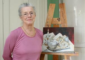 Salabon Karin Byström har fått en målning antagen till vårsalongen på Liljevalchs i Stockholm.