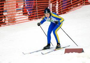 Stina Nilsson blev tävlingarnas drottning när Kalle Anka Cup avgjordes på hemmaplan i Malung 2007.
