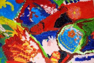 Färg och form från Regnbågen.