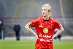 Oliver Widahl hade några heta lägen mot Selånger.