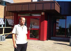 Bräckes nya kommunentré har en lång rad fördelar, förklarar Lars Liljedahl, utbildnings- och socialchef  i Bräcke kommun.