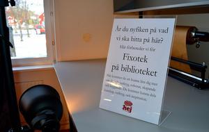 Till jul öppnar Fixoteket som är det första i sitt slag i Dalarna.