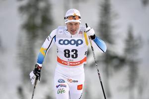 Anders Svanebo blev 44:a i den avslutande jaktstarten i Ruka.
