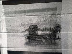 """""""Nowhere"""" av Jennie Tornberg Alvarsson, Leksand."""