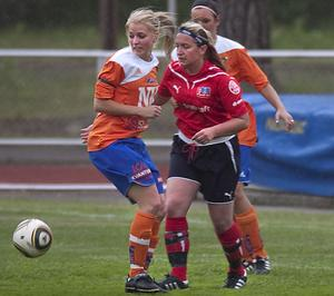 Sara Sohlberg, bördig från Voxnabruk utanför Edsbyn, dominerade stort i när Bollnäs föll med 0–8 mot Remsle.