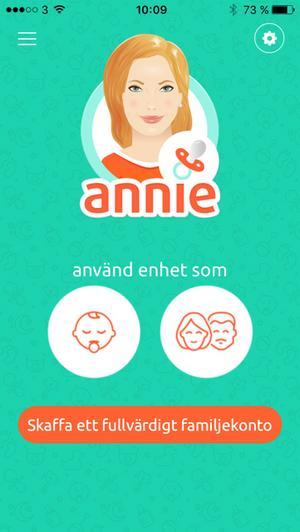 Babyvakt från Annie.