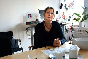 Katarina Persson, socialchef på Ånge kommun, ser Beata som en mer långsiktig lösning.