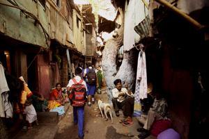Dharavi - ett av världens största slumområden.