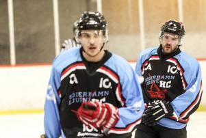 Viktor Eriksson gjorde debut för S/L och spelade i samma kedja som brorsan och lagkaptenen Carl-Johan Ericson.