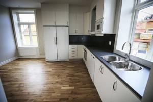 Huset bredvid, Storgatan 43, är nu totalrenoverat. Här är slutresultatet.