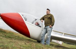 Flygklubbens ordförande Patrik Björk var mycket nöjd med helgens firande.