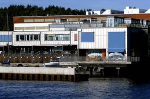Lyxbostäder i Gåshaga på Lidingö.