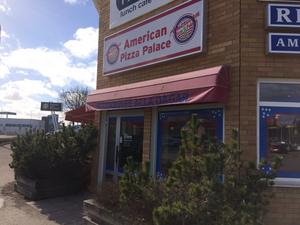 American Pizza Palace ligger mitt i smeten på Erikslund