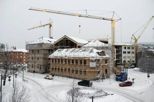 En helt ny inglasad innergård byggs på Grönborgs.