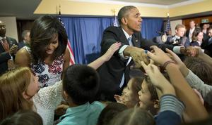 USAs president Barack Obama vid besöket på Kuba.