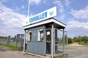 Ope IF har ansökt om att få kommunalt bidrag att bygga om Torvallen till en elvamanna konstgräsplan.