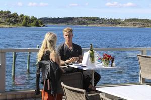 Pontus Hugosson, här på dejt med Cecilia Nancke, lyckades inte hitta kärleken i