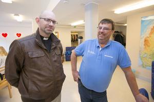 Peter Stjerndorff, till vänster och Lasse Wennman.