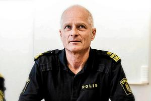 Mats Lagerblad är kommenderingschef under 1 maj-demonstrationerna i Ludvika.