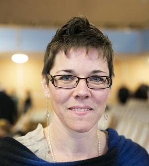 Jenny Drugge tar plats i Faluns kommunstyrelse.