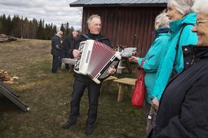 Medlemmarna kunde även njuta av dragspel i Terrsjö.
