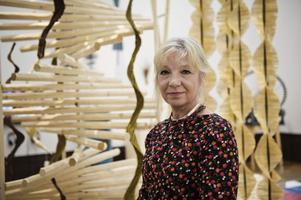 Kerstin Andersson Åhlin, generalsekreterare hemslöjdföreningarnas riksförbund.