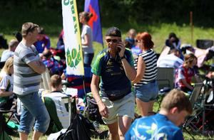 Kaj Hoof, tävlingsledare för ÖSA-träffen, kunde summera ännu en lyckad tävling.