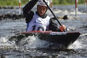 Öhrström blir förste svensk att delta i OS-tävlingarna i kanotslalom.