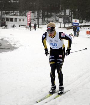 Dala-Flodas Jens Eriksson vann Dalapremiären i Grönklitt med bred marginal.