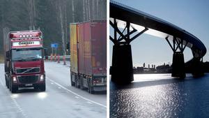 Ett förslag som Trafikverket och Sundsvalls kommun utreder, filar på ett förbud mot tung trafik genom Sundsvall, skriver SVT Västernorrland.